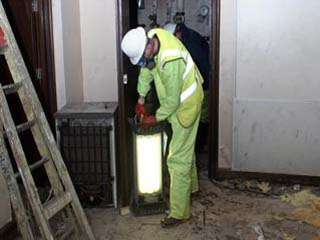 Specialist lights EEX for confined space areas
